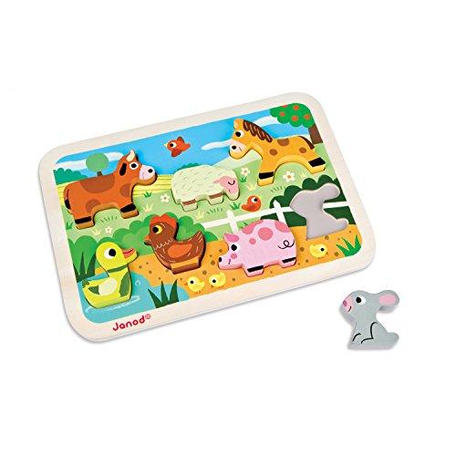 Pig Chunky Farm - Janod Farm Chunky Puzzle