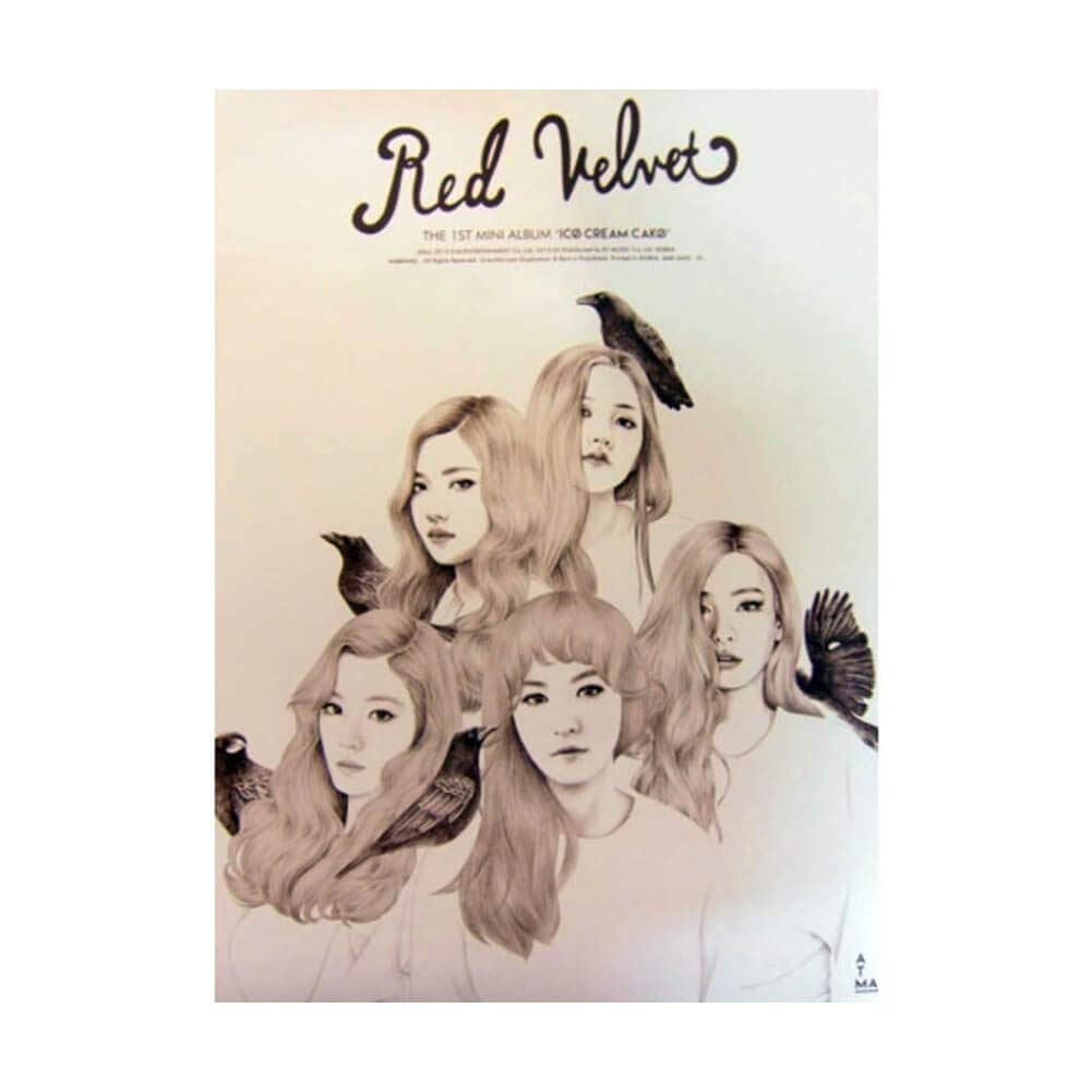 SM Entertainment Red Velvet 1st Album Ice Cream Cake Poster by SM Entertainment