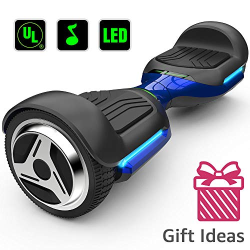 Gyroor 6.5 Inch Swift with Flashed Wheel Smart Self Balanceing Scooter with Music Speaker App-Enabled Hoverboard UL2272 Certificated