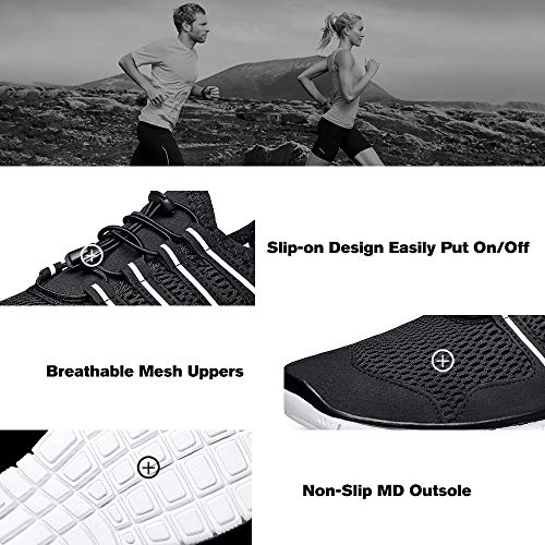 Slip on Sneakers Work Athletic Casual Shoes Mesh Comfortable SOBASO Womens Walking Shoes