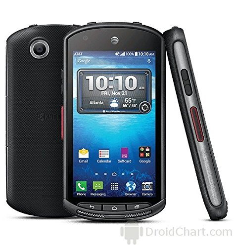 Kyocera DuraForce E6560 16GB Unlocked GSM 4G LTE Military Grade Smartphone w/ 8MP Camera - Black from Kyocera