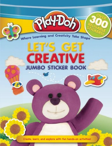 PLAY-DOH Jumbo Sticker Book: Let's Get Creative