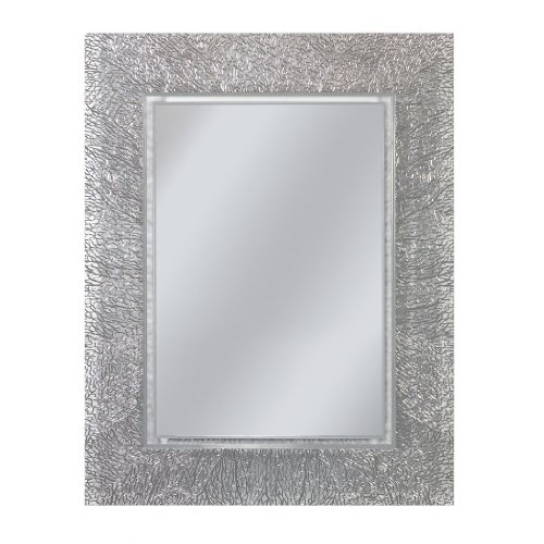 Head West Coral Rectangle Mirror, 22 by 28-Inch