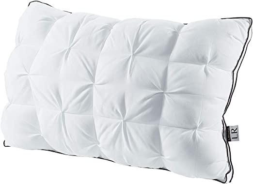 LANGRIA Luxury Hotel Collection Bed Pillows Plush Down Alternative Sleeping
