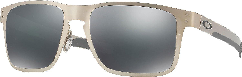 OAKLEY Holbrook Metal Gafas de sol, Plateado, 55 para Hombre