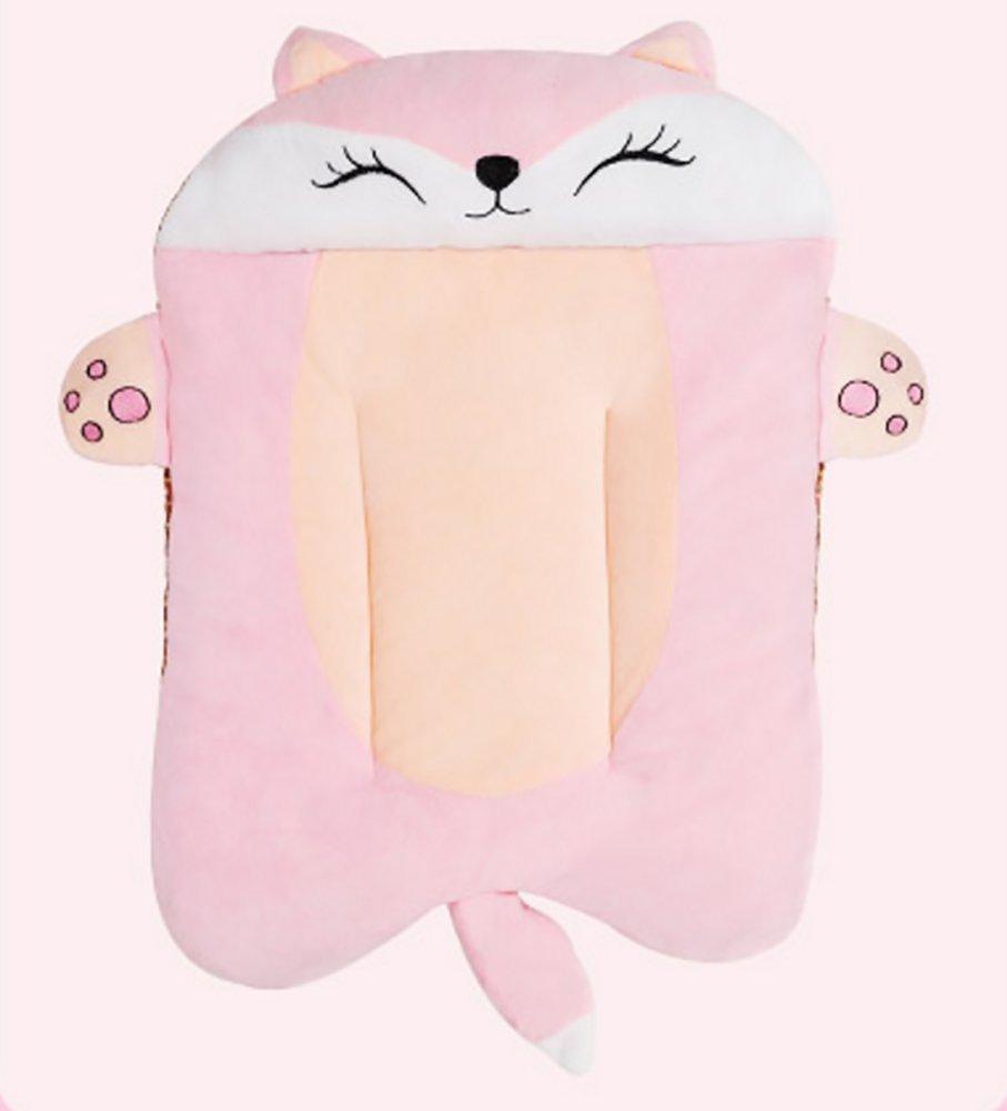 Fox Small fox Small YAJAN-Pet Dog Mat Mat Pet House Four Seasons Bite-Resistant Wearable Waterproof Cat Sleeping Pad Cartoon Washable