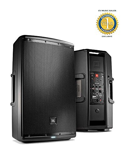 JBL EON615 1000W 15' 2-Way Powered Speaker System with 1 Year Free Extended Warranty