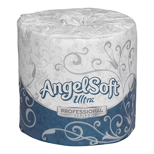 Georgia-Pacific Angel Soft ps Ultra 16560 White 2-Ply Premium Embossed Bathroom Tissue, (Bath Tissue White 2 Ply)