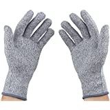 Cut Resistant Gloves,Level 5 Protection, Food Grade, Medium(KT0026)