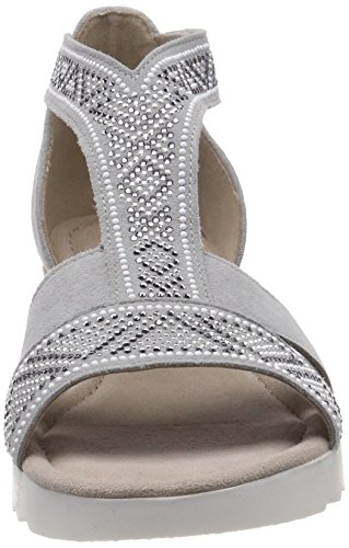 Gabor Comfort Sport Sandali Con Cinturino Alla Caviglia Donna Grigio ltgreyjute motiv