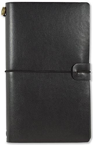 Voyager Refillable Notebook - Black (Traveler