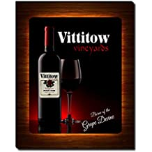 Vittitow's Vineyards Wine Gallery Wrapped Canvas Print