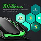 PICTEK Gaming Mouse Wired [7200
