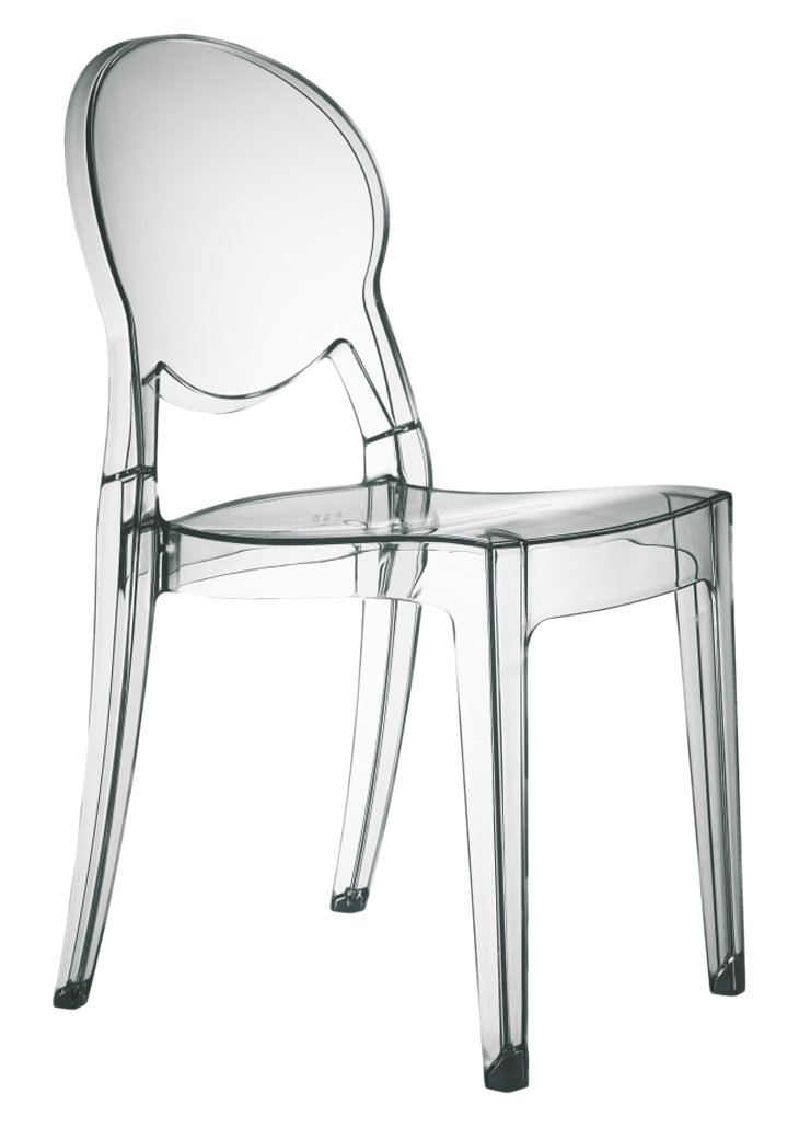 Set di 4 sedie IGLOO CHAIR in policarbonato trasparente: Amazon.it ...