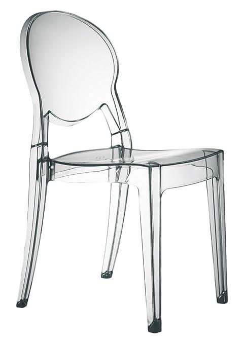 Sedie Policarbonato Design.Set Di 4 Sedie Igloo Chair In Policarbonato Trasparente
