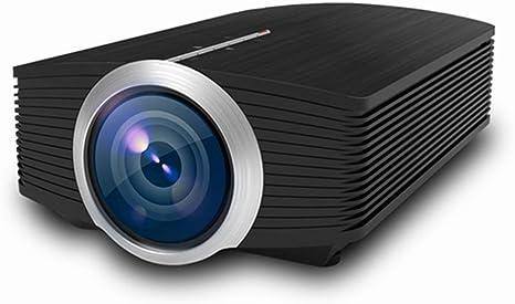 Opinión sobre QK Proyector, Mini Proyector Portátil 1080p HD, Cine en Casa, Long Horas Vida, ± 15 °Keystone Correction, para Cine en Casa