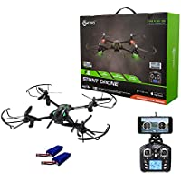 Contixo F6 RC Quadcopter Racing Drone 2.4Ghz 720P Rotating HD Video Wifi Camera Live FPV Headless Mode 2 Batteries included 18min Fly Time VR Compatible - Best Gift