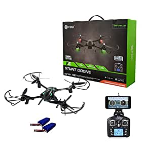 Contixo F6 RC Quadcopter Racing Drone 2.4Ghz 720P Rotating HD Video Wifi Camera Live FPV Headless Mode 2 Batteries included VR Compatible - Best Gift Idea