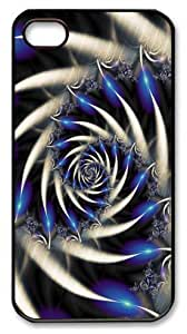Abstract pattern iPhone 4 4s Case PC Black Case for iPhone 4 4s by icecream design