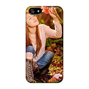 Protective Tpu Case With Fashion Design For Iphone 5/5s (sunshine Girls 2013 Pure Beauty)