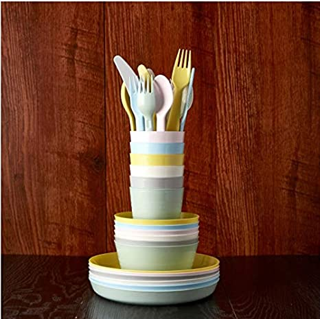 Hu Ikea KALAS - Juego de cubiertos de 36 piezas, incluye 6 ...