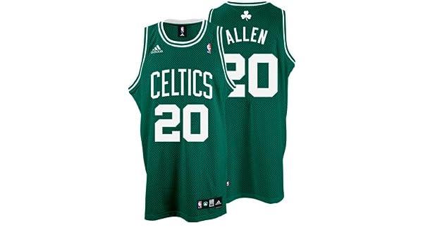 eb74a5afc Amazon.com   adidas Ray Allen  20 Boston Celtics Swingman Adult Road Jersey    Sports Fan Basketball Jerseys   Sports   Outdoors