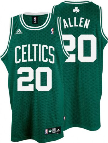 0f09b9f34 Image Unavailable. Image not available for. Color  adidas Ray Allen  20  Boston Celtics Swingman Adult Road Jersey