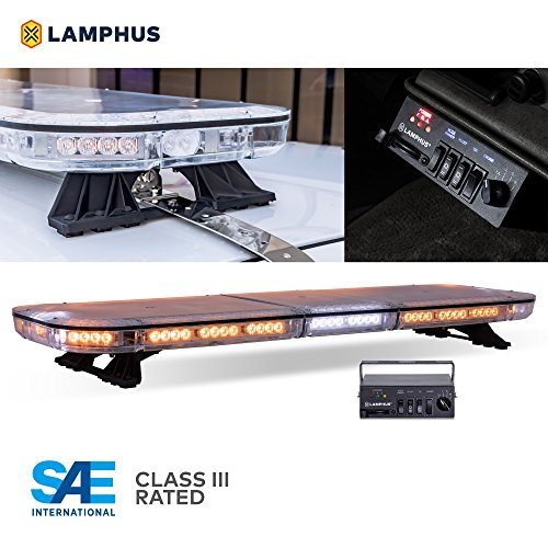"LAMPHUS SolarBlast SBFB98 47"" 98W Emergency Vehicle LED Full"