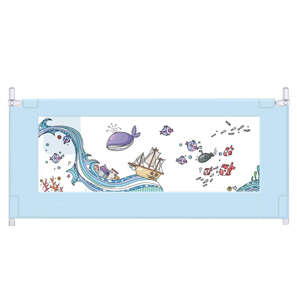 ベッドフェンス- ポータブル折り畳み式幼児用安全ベッドレール、ベビーツインベッド用超大型幼児ベッドガード、(1面) (サイズ さいず : 180cm) 180cm  B07KRTVWJY