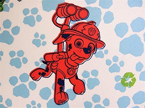 Paw Patrol All Paws On Deck 100% Microfiber Flat Sheet (Only) Top Size TODDLER Boys Girls Kids Bedding