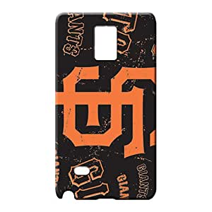 samsung note 4 Brand Shockproof Back Covers Snap On Cases For phone cell phone carrying covers san francisco giants mlb baseball