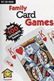 Family Card Games (PC CD) Includes over 100 shareware titles including : King Corners, Blackjack, Rummy, Bridge, Solitaire, Cansta, Easy Whilst, Free Cell 3D, Spider, Hardwood Spades, Poker Challenge, Solitary Confinement, Spite & Malice, TV Poker, Tri Peaks, Thursday Night Poker, WinHanafuda & Many More!