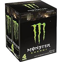 Monster Energy, Original, 16 Ounce (Pack of 4)