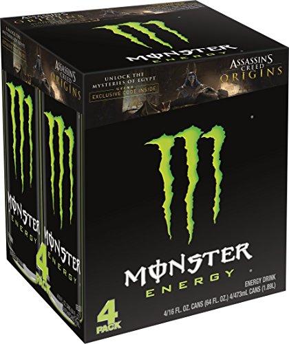 Monster Energy  Original  16 Ounce  Pack Of 4