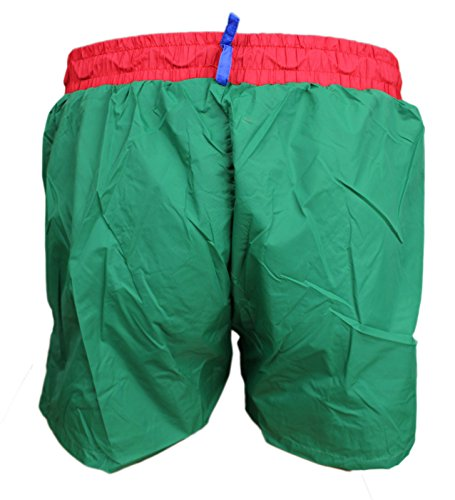 Courte Vert Homme Bermuda Fit Slim Mer Jaune Flat Short Bicolore Boxer CaTwPSxqn
