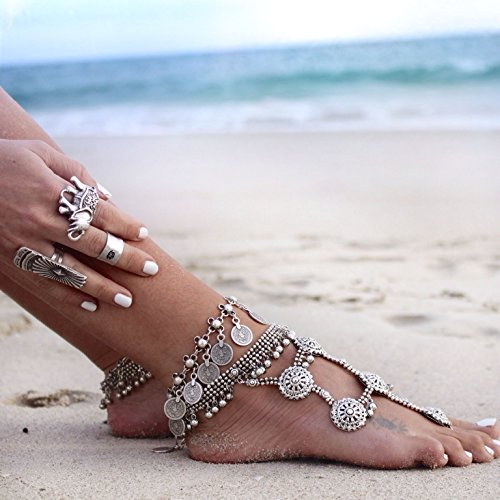 pearlplus-1-pc-womens-vintage-style-antique-silver-anklet-coin-tassels-beach-ankle-chain-b0480