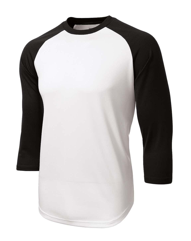 Sport-Tek ST205 PosiCharge Baseball Jersey M White//Black