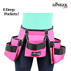 Image of the product Pink Tool Belt For Women that is listed on the catalogue brand of Lipstick Tools.