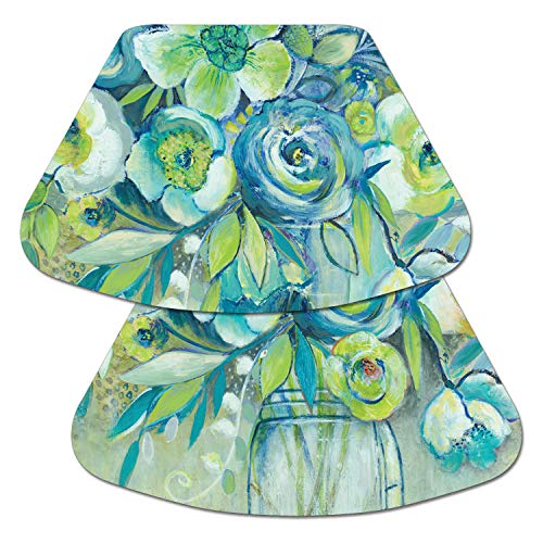(Counterart Reversible Wedge Placemat - Summer Blooms)