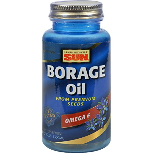 300 Mg 30 Caps - Health From The Sun Borage Oil 300Mg Of Gla 30 Cap
