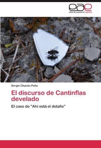 El discurso de Cantinflas develado: El caso de