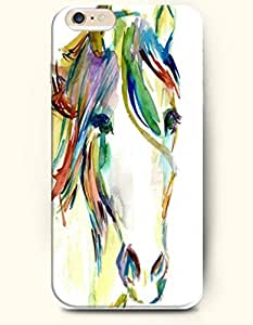 Colorful Horse Head - Oil Painting - Phone Cover for Apple iPhone 6 ( 4.7 inches) - OOFIT Authentic iPhone Case