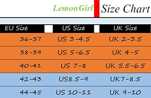 Warm Slip Non Purple LemonGirl Comfort Women's House Men's Slippers Thick and Slippers 1Znw86