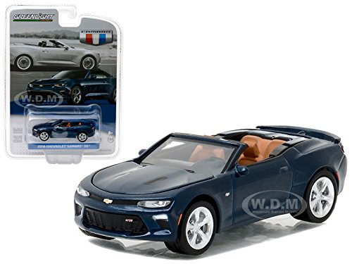 2016 Chevrolet Camaro SS Convertible Blue Velvet General Motors Collection Series 1 1/64 by Greenlight 27870 F ()