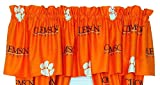 Clemson Tigers Curtain Valance From College Covers 84X15 For Sale