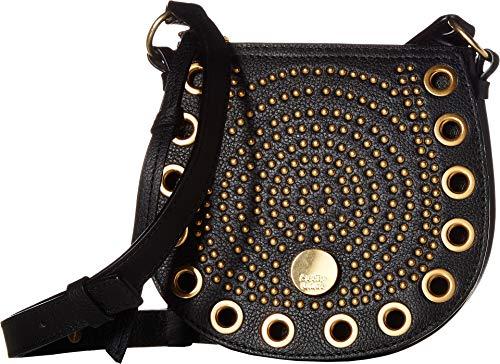 See by Chloe Women's Kriss Mini Saddle Bag Black One Size ()