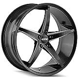 2002 buick lesabre rims - Touren 3270 TR70 17x7.5 5x115 +40mm Black/Milled Wheel Rim