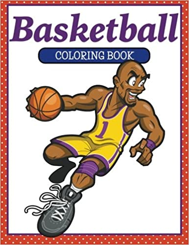 Basketball Coloring Book Amazonde M R Bellinger Fremdsprachige Bucher