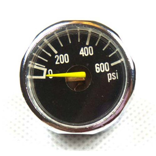 New 2x 600 PSI Paintball Micro Gauge Free Shipping