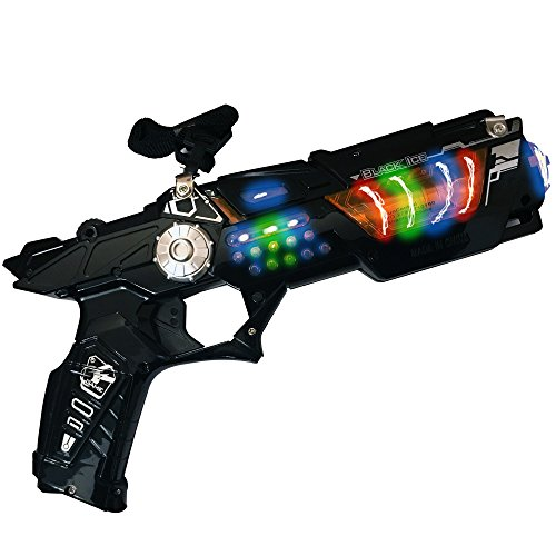 LilPals Space Gun With Flashing LEDS and Sounds. Supper Fun and Colorful -